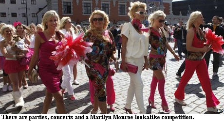 March of the Blondes - Latvia