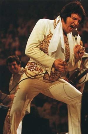 Elvis Presley - a mid seventies concert