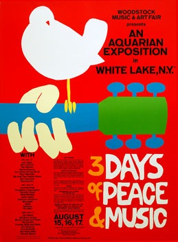 Woodstock Poster 1969