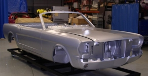 1965 Mustang body shell