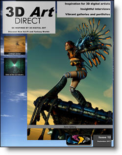 3D Art Direct - Issue 12 Cover