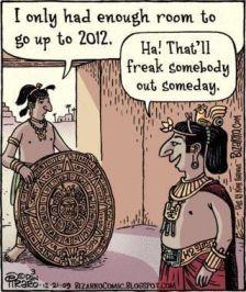 Mayan Calendar Cartoon
