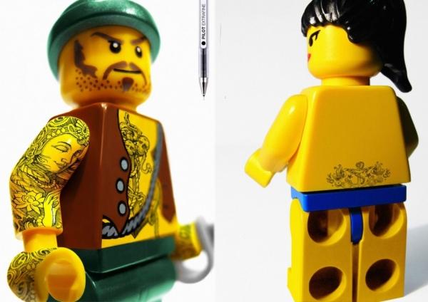 Lego Tats